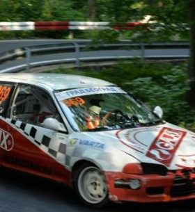 Brska auto trka - Avala